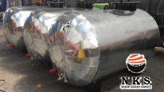 İzoleli Tip Yerüstü Yakıt Tankı