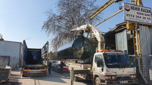 Kardeş Azerbaycan Tanklarının Sevkiyatı